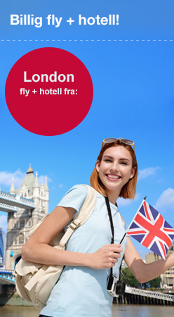 London fly + hotell