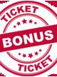 TicketBonus - opp til 3 % bonus på alle dine reiser!